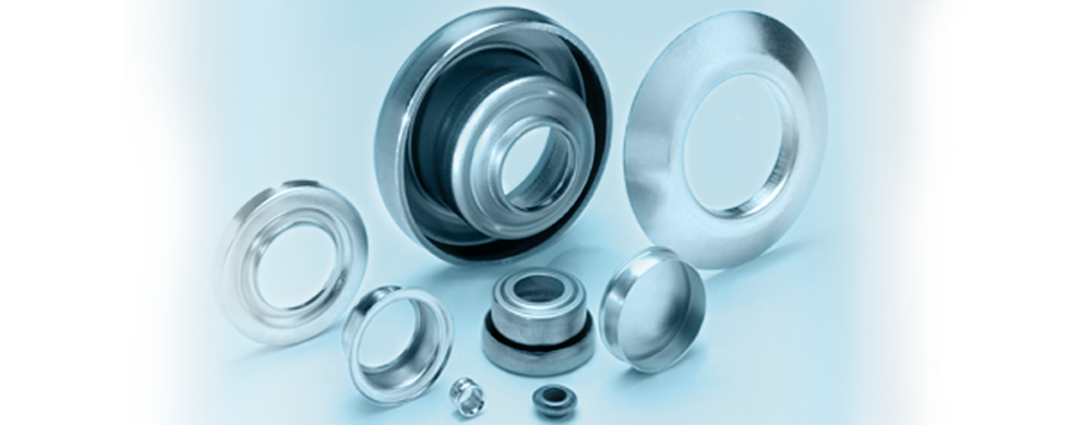 Seals for ball bearings in conveyor belt rollers | MARKES